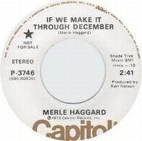 Cover Merle Haggard - If We Make It Through December