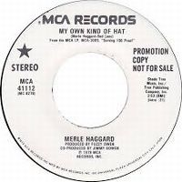 Cover Merle Haggard - My Own Kind Of Hat