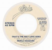 Cover Merle Haggard - That's The Way Love Goes