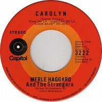 Cover Merle Haggard And The Strangers - Carolyn