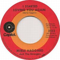 Cover Merle Haggard And The Strangers - I Started Loving You Again