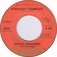 Cover Merle Haggard And The Strangers - Kentucky Gambler