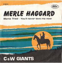 Cover Merle Haggard And The Strangers - Mama Tried