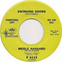 Cover Merle Haggard And The Strangers - Swinging Doors
