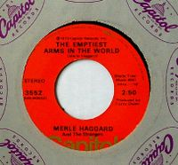 Cover Merle Haggard And The Strangers - The Emptiest Arms In The World