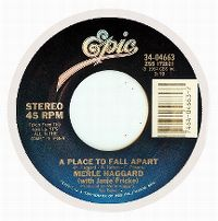Cover Merle Haggard with Janie Fricke - A Place To Fall Apart