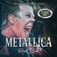 Cover Metallica - Rock Box - The Ultimate Music Story