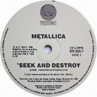 Cover Metallica - Seek & Destroy