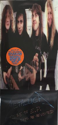 Cover Metallica - The $5.98 EP Garage Days Re-Revisited