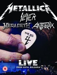 Cover Metallica / Slayer / Megadeth / Anthrax - The Big 4 - Live From Sofia, Bulgaria