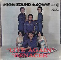 Cover Miami Sound Machine - Renacer/Live Again