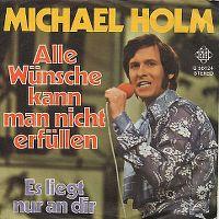 Cover Michael Holm - Alle Wünsche kann man nicht erfüllen