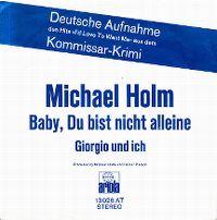 Cover Michael Holm - Baby, du bist nicht alleine