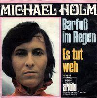 Cover Michael Holm - Barfuß im Regen