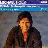 Cover Michael Holm - Fällt der Vorhang für uns zwei
