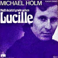 Cover Michael Holm - Mußt du jetzt grade gehen Lucille