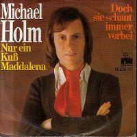 Cover Michael Holm - Nur ein Kuß Maddalena