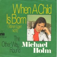 Cover Michael Holm - When A Child Is Born
