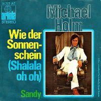 Cover Michael Holm - Wie der Sonnenschein (Shalala oh oh)