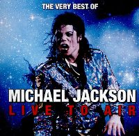Cover Michael Jackson - Live To Air - The Very Best Of