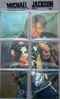 Cover Michael Jackson - Souvenir Single Pack