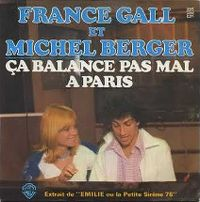 Cover Michel Berger & France Gall - Ça balance pas mal à Paris