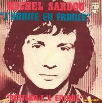 Cover Michel Sardou - J'habite en France