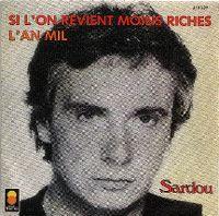 Cover Michel Sardou - Si l'on revient moins riches