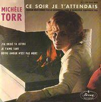 Cover Michèle Torr - Ce soir je t'attendais