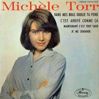 Cover Michèle Torr - Dans mes bras oublie ta peine