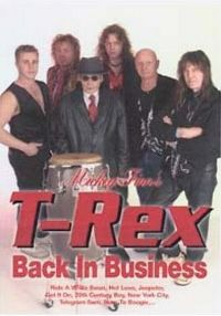 Cover Mickey Finn's T-Rex - Back In Business