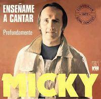 Cover Micky - Enseñame a cantar