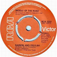 Cover Middle Of The Road - Samson And Delilah