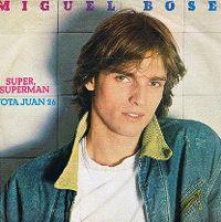 Cover Miguel Bosé - Super Superman