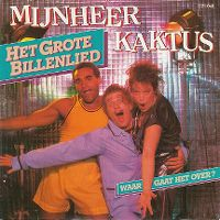 Cover Mijnheer Kaktus - Het grote billenlied