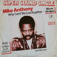 Cover Mike Anthony - Why Can't We Live Together