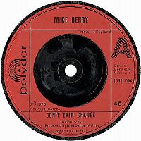 Cover Mike Berry - Don't Ever Change