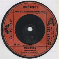 Cover Mike Berry - Memories