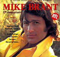 Cover Mike Brant - 15e anniversaire