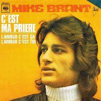 Cover Mike Brant - C'est ma prière