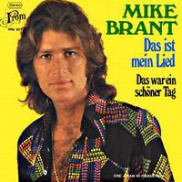 Cover Mike Brant - Das ist mein Lied