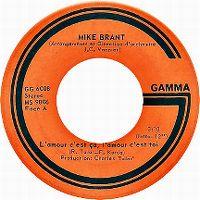 Cover Mike Brant - L'amour c'est ça, l'amour c'est toi