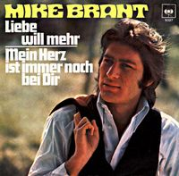 Cover Mike Brant - Liebe will mehr