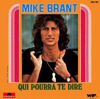 Cover Mike Brant - Qui pourra te dire