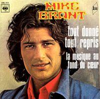 Cover Mike Brant - Tout donné, tout repris