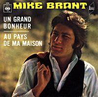 Cover Mike Brant - Un grand bonheur