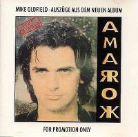Cover Mike Oldfield - Amarok