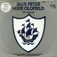 Cover Mike Oldfield - Blue Peter