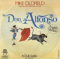 Cover Mike Oldfield - Don Alfonso