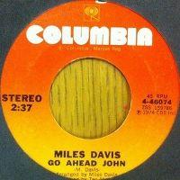 Cover Miles Davis - Go Ahead John